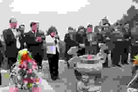 Lãnh đạo tỉnh Quảng Bình dâng hương Đại tướng Võ Nguyên Giáp