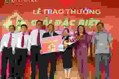 Agribank trao giải thưởng 1 tỷ đồng