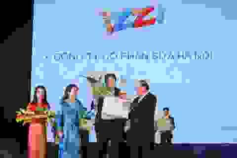 """Izzi S+ Sữa nước duy nhất lọt vào top 20 """"Thương hiệu vàng thực phẩm Việt Nam"""" năm 2014"""