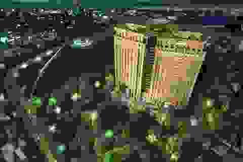 Vườn treo Babylon trên mái tòa tháp căn hộ cao cấp