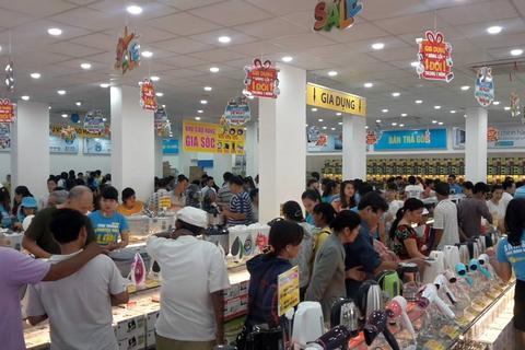 Điện máy Xanh mở rộng nhanh tại thị trường miền Trung