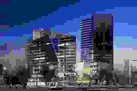 FLC khởi công tháp đôi quy mô 5.200 tỷ đồng tại Cầu Giấy
