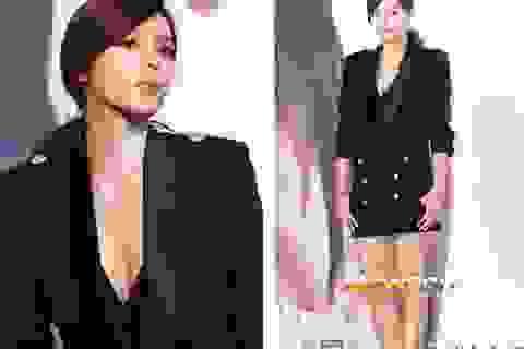 """Hoa hậu dao kéo xứ Hàn """"quên"""" mặc quần?"""