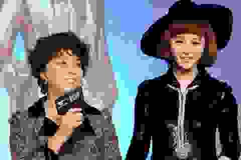 Phạm Băng Băng mời mẹ lên sân khấu nhận giải thưởng