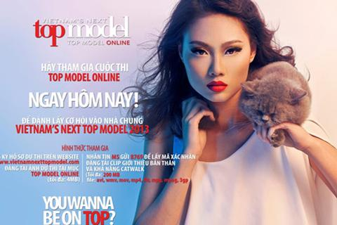 Chính thức khởi động cuộc thi Top Model Online 2013