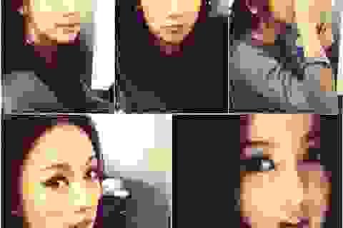 """Nữ hoàng sexy Lee Hyori khoe mặt """"mộc"""""""