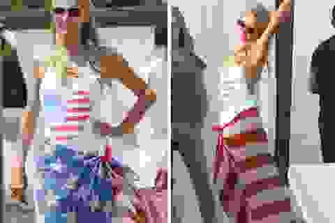 Paris Hilton diện bikini chào mừng Tết độc lập
