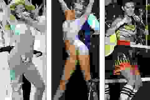 Phản cảm với áo tắm gắn vỏ sò của Lady Gaga