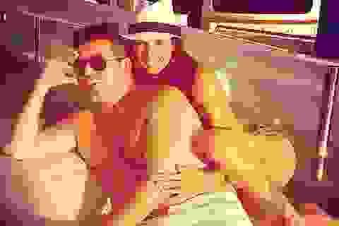Người thân thanh minh cho bạn gái của Simon Cowell