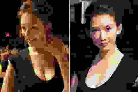 Siêu mẫu Lâm Chí Linh nảy nở bất ngờ