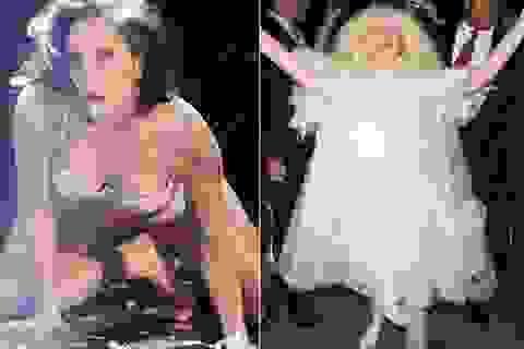 Sốc trước sự sáng tạo về trang phục của Lady Gaga