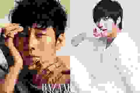 """So Ji Sub """"qua mặt"""" hotboy đình đám Lee Min Ho"""