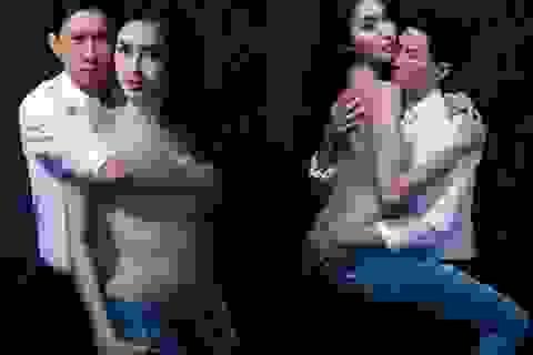"""Mỹ nhân chuyển giới Thái Lan chụp ảnh """"nóng"""" cùng tài tử Hoa ngữ"""
