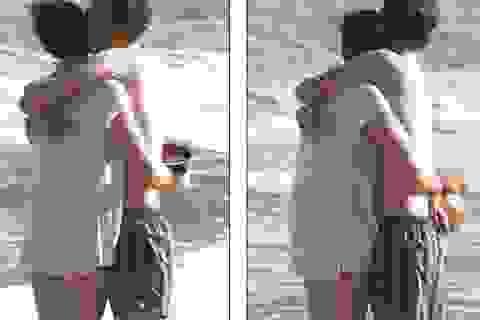 """""""Công chúa"""" Anne Hathaway hạnh phúc bên chồng"""