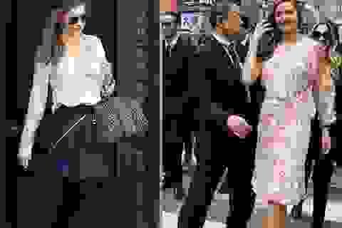 Gu thời trang sành điệu của siêu mẫu Miranda Kerr