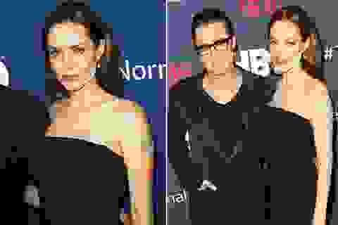 Angelina Jolie lộ mặt đánh phấn nham nhở