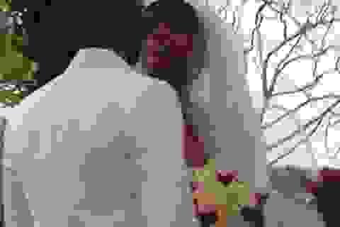 Hé lộ ảnh về đám cưới bí mật của Kelly Rowland