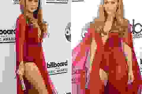 Jennifer Lopez hững hờ khoe chân thon