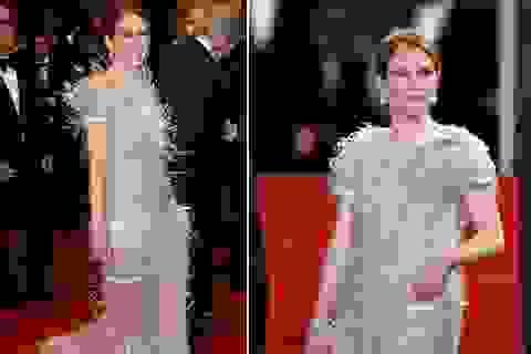 Mỹ nhân Hollywood đua nhau diện váy áo xuyên thấu tại Cannes