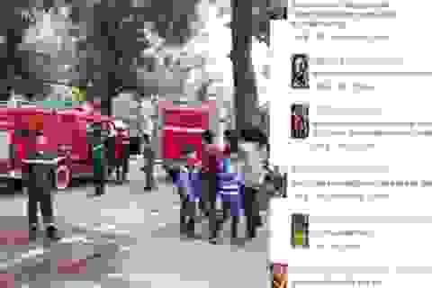Giới trẻ Hà thành hốt hoảng vì vụ cháy ở khu giải trí Zone 9