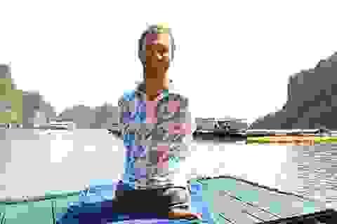 Nick Vujicic hết lời khen ngợi thắng cảnh vịnh Hạ Long