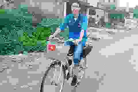 Chàng trai đạp xe 450km sắp thực hiện chuyến vòng quanh thế giới