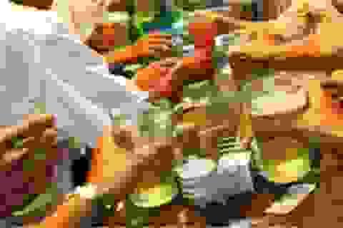 Giá bia, rượu tăng cao dịp Tết nguyên đán