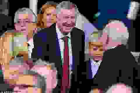 Sir Alex trở lại Old Trafford xem MU thi đấu