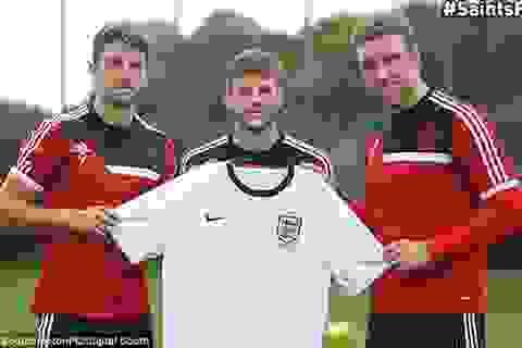 """Đội tuyển Anh hội quân: """"Làn gió lạ"""" từ Southampton"""