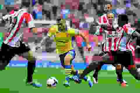 """Arsenal - Sunderland: Khoảng lặng sau """"cơn bão"""""""