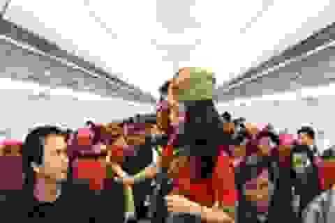 """VietJet Air khuyến mại hấp dẫn """"Bay 3 tặng 1"""""""