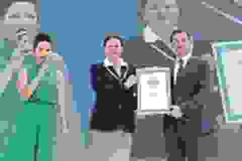 Kỷ lục Guinness Thế giới vừa được lập tại Việt Nam