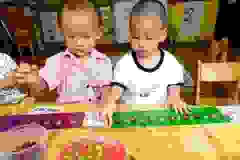 Hãy cho trẻ học bằng nhiều giác quan!