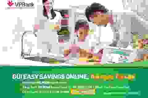 Gửi tiền trúng vàng với VPBank