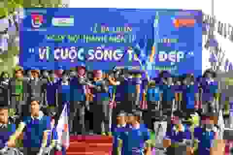 MC, diễn viên Quyền Linh đồng hành Lễ ra quân cùng sơn Spec