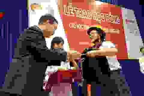 4 Oranges dành 400 suất học bổng cho học sinh hiếu học tỉnh Long An năm 2014