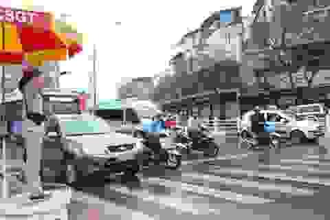 Hà Nội ra quân đảm bảo trật tự an toàn giao thông đầu năm mới