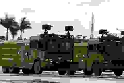Công an Hà Nội giới thiệu dàn xe đặc chủng phục vụ IPU-132