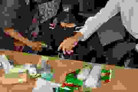 Phá đường dây mua bán 2kg ma túy đá xuyên biên giới
