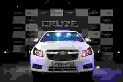 GM Việt Nam ra xe Chevrolet Cruze phiên bản mới