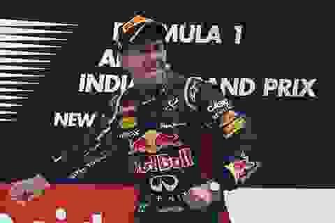 Lần thứ 4 liên tiếp cho Vettel
