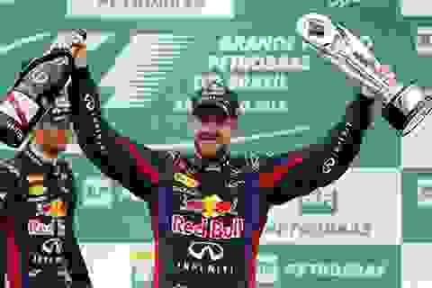 Vettel và Red Bull là số một