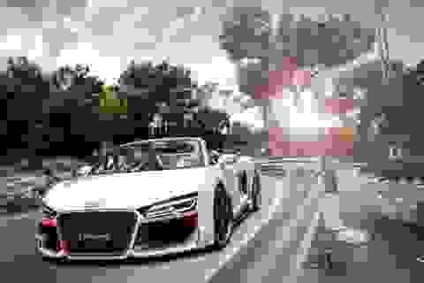 Audi R8 V10 Spyder diện áo mới