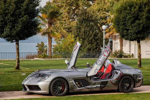 Ngày hội của Mũi tên bạc SLR McLaren tại châu Âu