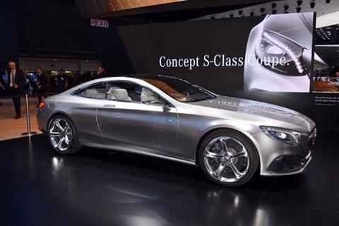 Mercedes-Benz S-Class coupé concept chính thức ra mắt