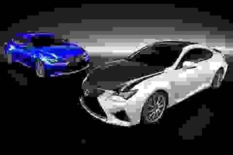 Lexus RC F với bản nâng cấp từ sợi carbon