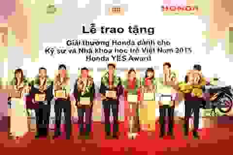 Giải thưởng dành cho kỹ sư và nhà khoa học trẻ Việt Nam