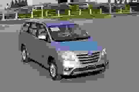 Toyota Innova 2014 tăng giá