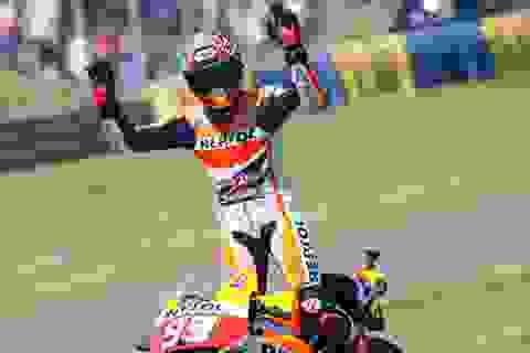 Marquez với chặng đua không tưởng tại Pháp