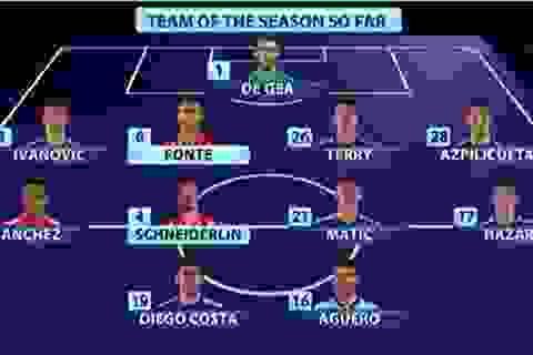 Fabregas bị gạch tên khỏi đội hình xuất sắc nhất Premier League